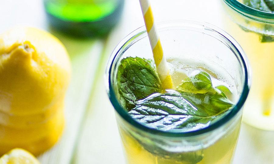 Radler zelf maken: met citroen en munt