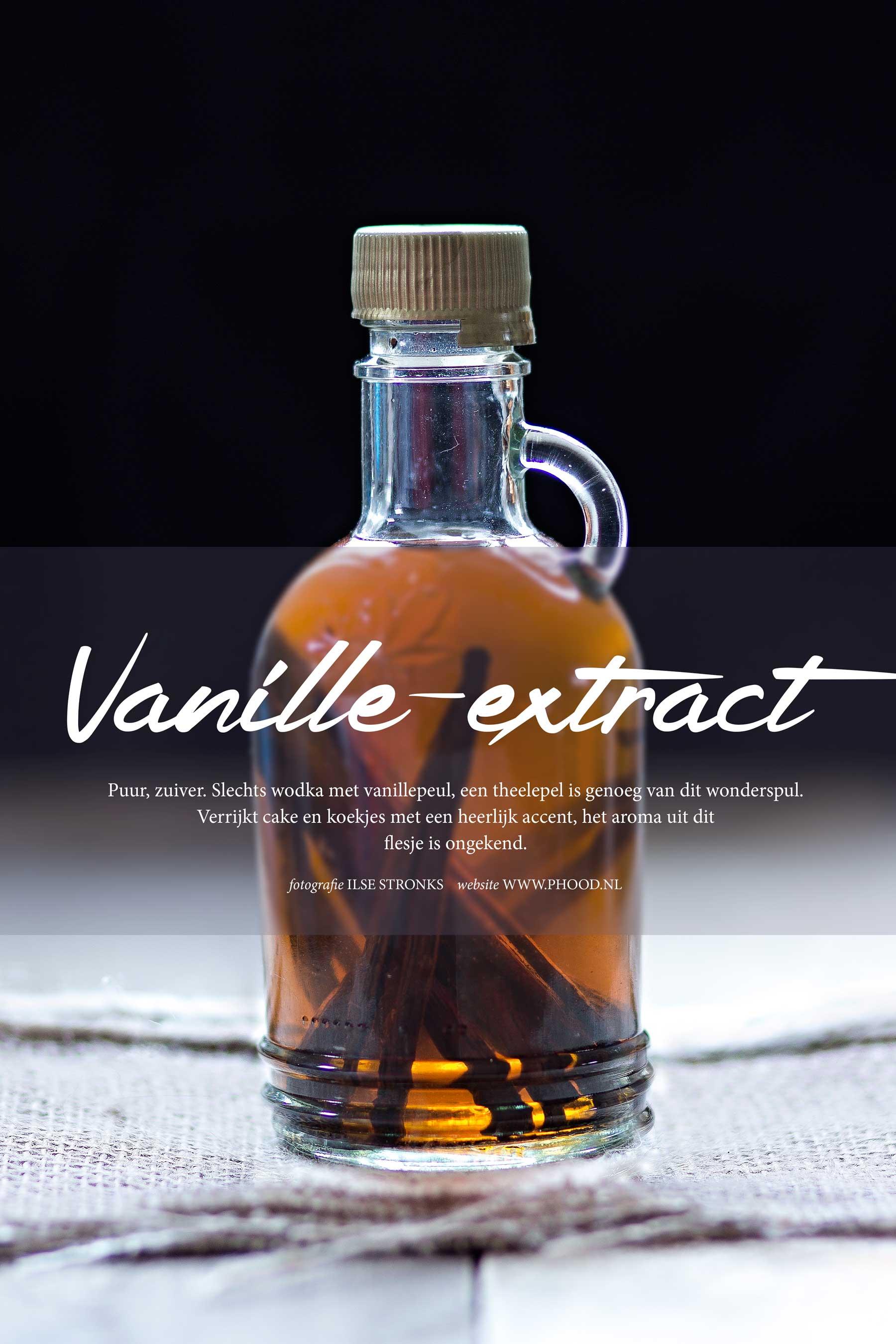 vanille-extract maken