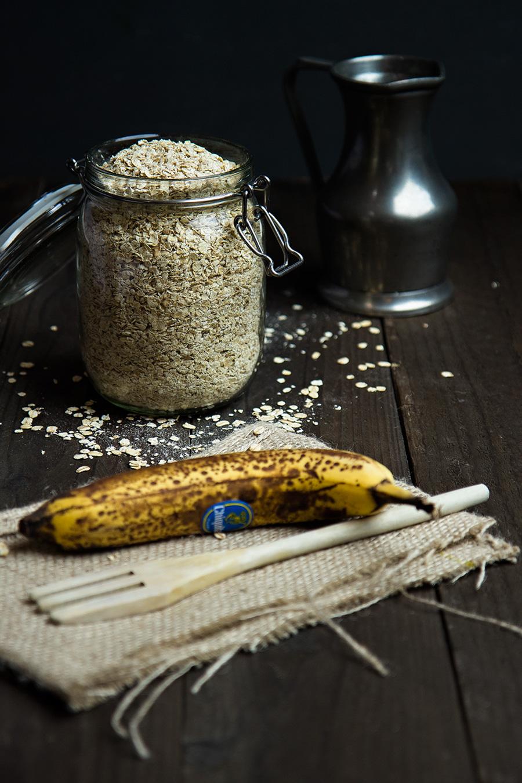 Havermout met banaan