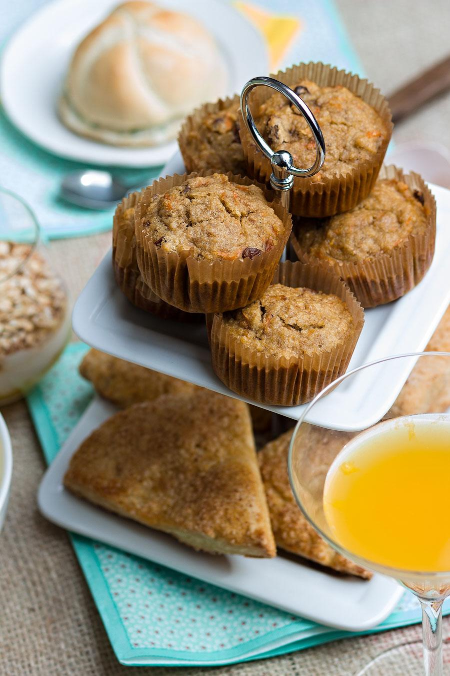 carrot cake muffins gezonde variant