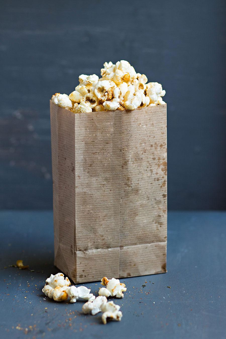 Popcorn hartig paprika italiaanse kruiden